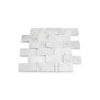 Mugla White Splitface 30 x 30 x 1,5 cm