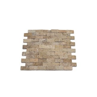 Travertine Light Splitface 30 x 30 x 1,5 cm
