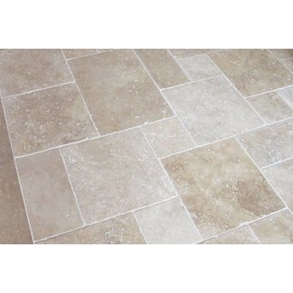 MRMLX  | Travertine Classic Light - Romaans Verband 1,2 cm