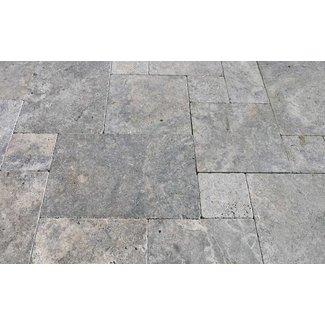 MRMLX  | Travertine Classic Silver - Romaans Verband 1,2cm