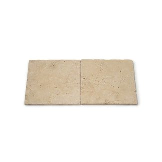 MRMLX | Travertine Light Tumbled 20 x 20 x 1 cm