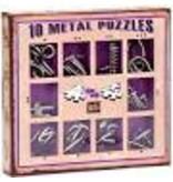 Eureka 10 Metal Puzzles (paars)