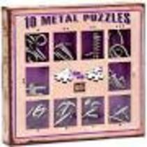 10 Metal Puzzles (paars)