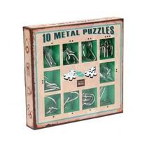 10 Metal Puzzles (groen)