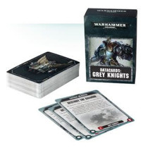 Warhammer 40,000 8th Edition Datacards Imperium: Adeptus Astartes Grey Knights