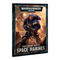 Warhammer 40,000 8th Edition Rulebook Imperium Codex: Adeptus Astartes Space Marines (HC)