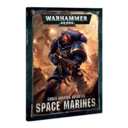 Games Workshop Warhammer 40,000 8th Edition Rulebook Imperium Codex: Adeptus Astartes Space Marines (HC)