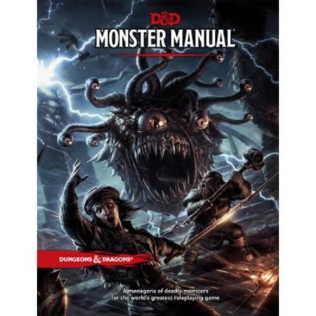 Wizards of the Coast D&D 5th Edition Core Book: Monster Manual