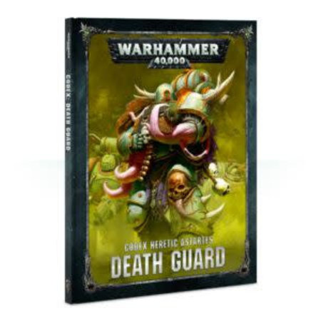 Games Workshop Warhammer 40,000 8th Edition Rulebook Chaos Codex: Heretic Astartes Death Guard (HC)