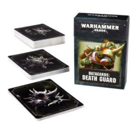 Games Workshop Warhammer 40,000 8th Edition Datacards Chaos: Heretic Astartes Death Guard
