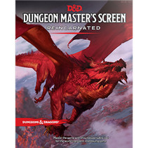 D&D 5th Edition Dungeon Master Screen: Reincarnated