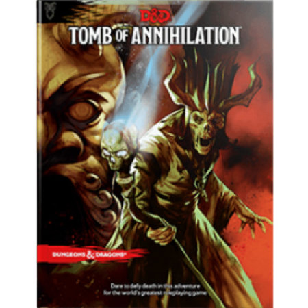 Wizards of the Coast D&D 5th Edition Adventures: Tomb of Annihilation