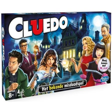 Hasbro Cluedo Refresh Nieuw