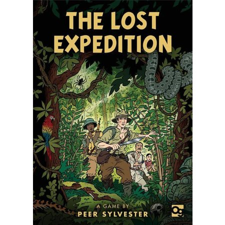 Osprey Games The Lost Expedition