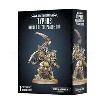 Warhammer 40,000 Chaos Heretic Astartes Death Guard: Typhus, Herald of the Plague God