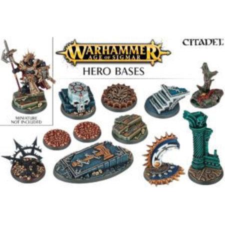Games Workshop Age of Sigmar Bases: Hero Bases