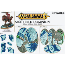 Shattered Dominion: 60mm & 90mm Oval Bases