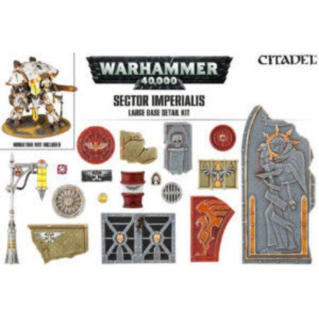Games Workshop Sector Imperialis: Large Base Detail Kit
