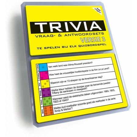 Nova Carta Quizvragen (Triviant, Trivial Pursuit) Aanvulset 3 (2017)