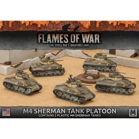 Battlefront M4 Sherman Tank Platoon