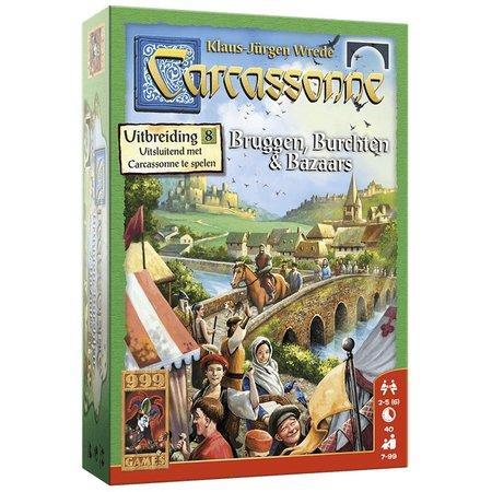 999-Games Carcassonne: Bruggen, Burchten en Bazaars - Uitbreiding