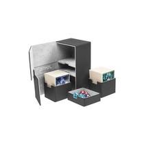 Ultimate Guard Twin Flip ́n ́Tray Deck Case Xenoskin 200+ Black