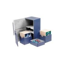 Ultimate Guard Twin Flip'n'Tray Deck Case Xenoskin 160+ Blue