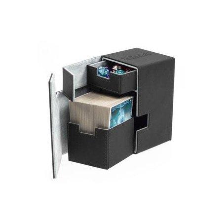 Ultimate Guard Ultimate Guard Flip ́n ́Tray Deck Case Xenoskin 100+ Black