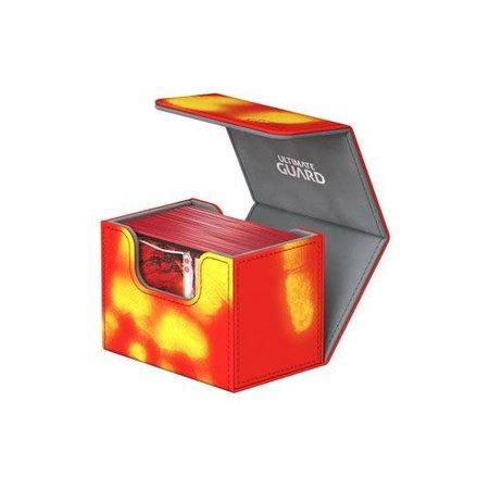 Ultimate Guard Ultimate Guard Sidewinder Deck Case Chromaskin 80+ Red