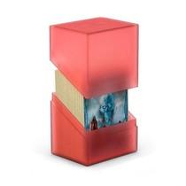 Ultimate Guard Boulder Deck Case 80+ Ruby