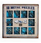 Eureka 10 Metal Puzzles (blauw)