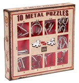 Eureka 10 Metal Puzzles (rood)