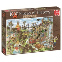 1000 Pieces of History: The Wild West (1000)