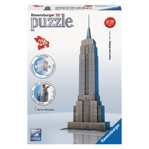 3D Puzzle: Empire State Building