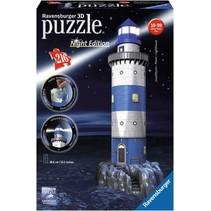3D Puzzle: Vuurtoren Night Edition (216)