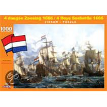 4 Daagse Zeeslag 1666 (1000)