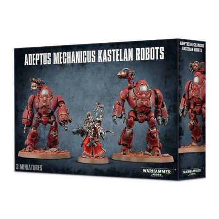 Games Workshop Warhammer 40,000 Imperium Adeptus Mechanicus: Kastelan Robots & Datasmith