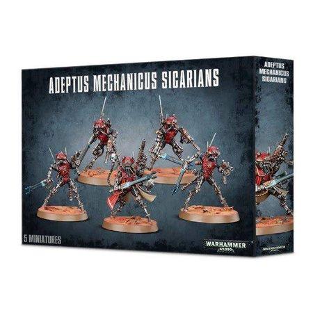 Games Workshop Warhammer 40,000 Imperium Adeptus Mechanicus: Sicarian Ruststalkers/Infiltrators