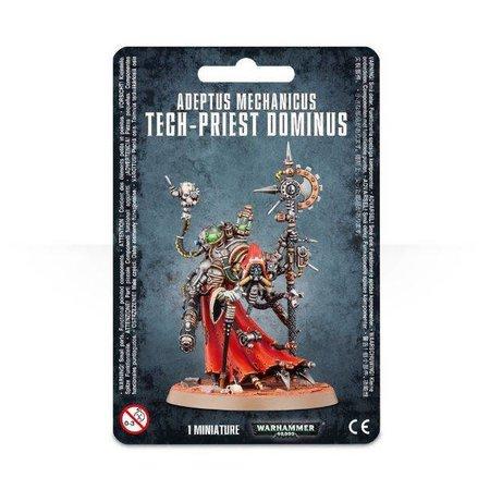 Games Workshop Warhammer 40,000 Imperium Adeptus Mechanicus: Tech-Priest Dominus