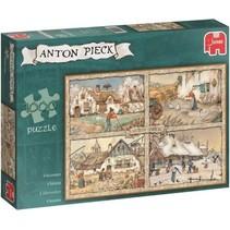 Anton Pieck: 4 Seizoenen puzzel (1000)