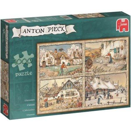 Jumbo Anton Pieck: 4 Seizoenen puzzel (1000)