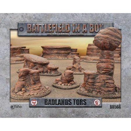 GaleForce Nine Battlefield in a Box: Badlands Tors