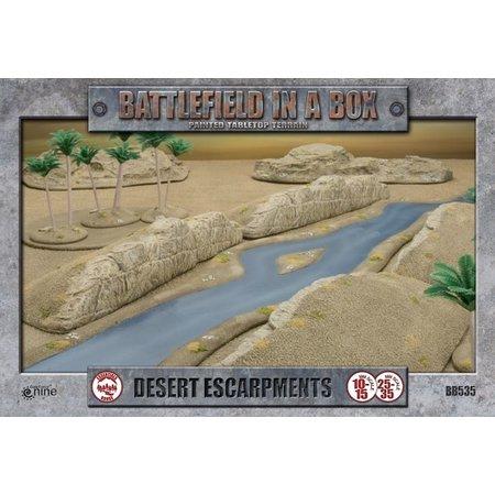 GaleForce Nine Battlefield in a Box: Desert Escarpments