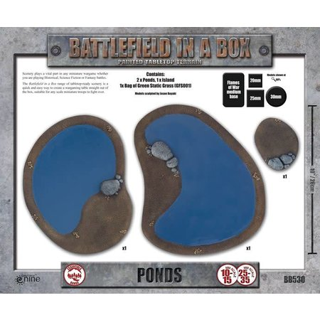 GaleForce Nine Battlefield in a Box: Ponds