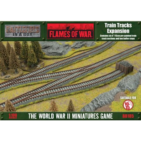 GaleForce Nine Battlefield in a Box: Train Tracks Expansion