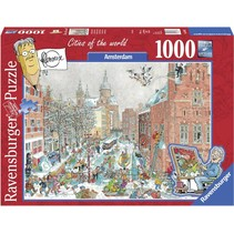 Frans Le Roux: Cities of the World: Amsterdam in Winter (1000)