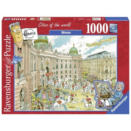 Ravensburger Frans Le Roux: Cities of the World: Wenen (1000)
