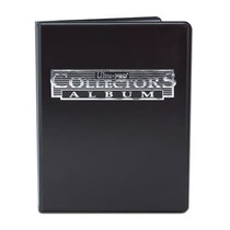 4-Pocket Portfolio Collectors Black C12