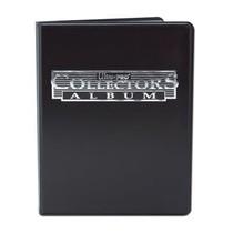 4-Pocket Portfolio Collectors Black