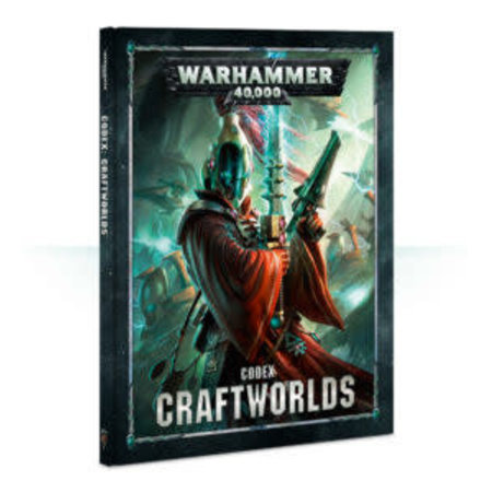 Games Workshop Warhammer 40,000 8th Edition Rulebook Xenos Codex: Aeldari Craftworlds (HC)